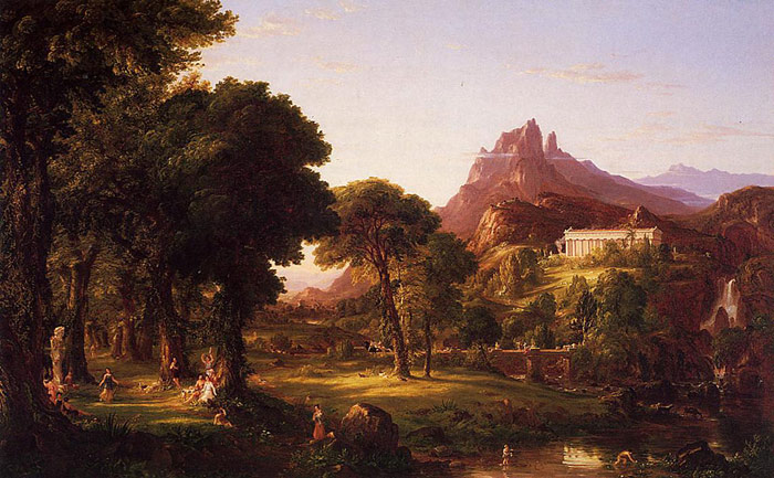 Dream of Arcadia, 1838  Painting Reproductions