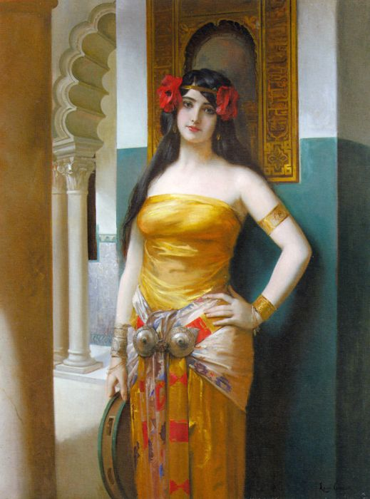 An Arab Beauty  Painting Reproductions