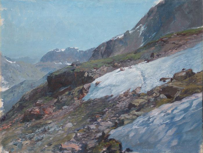 Mountains, 1912 Compton, Edward Theodor Painting Reproductions