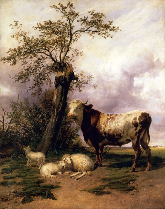 The Lord Of The Pastures, 1895  Painting Reproductions