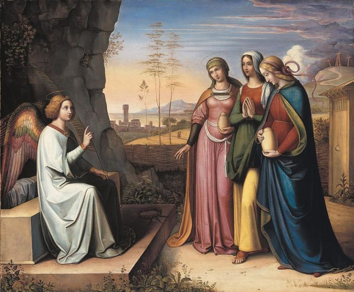 The three Marys at the Tomb, 1822  Painting Reproductions
