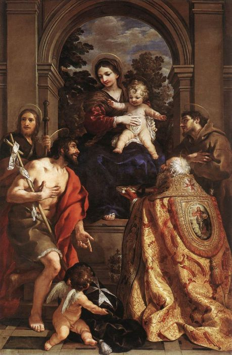 Madonna and Saints, 1626  Painting Reproductions
