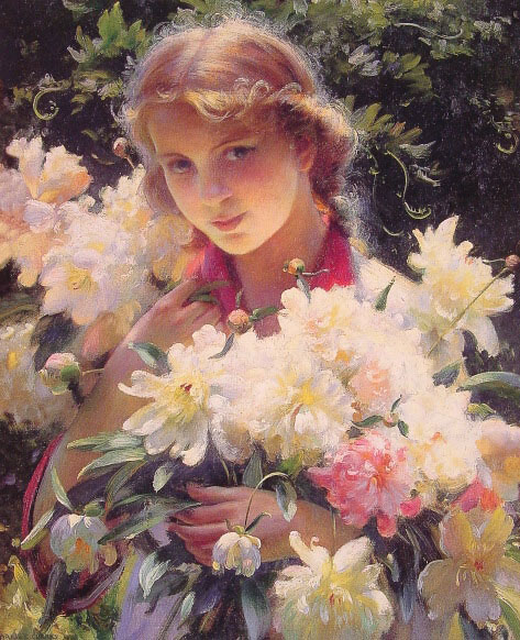 Peonies, 1915  Painting Reproductions