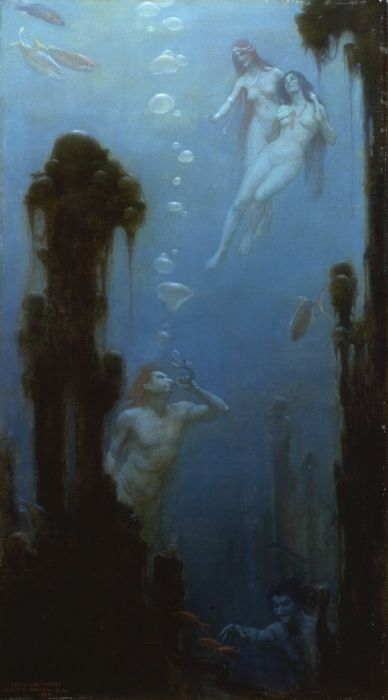 A Deep Sea Fantasy  Painting Reproductions