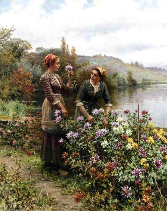 Paintings Knight, Daniel Ridgway