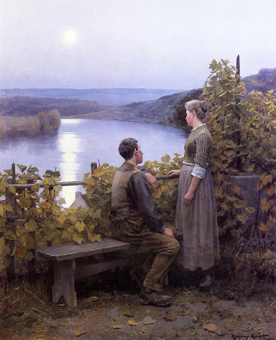 Summer Evening, 1897  Painting Reproductions