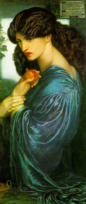 Proserpine,  1874 Rossetti, Dante Gabriel Painting Reproductions