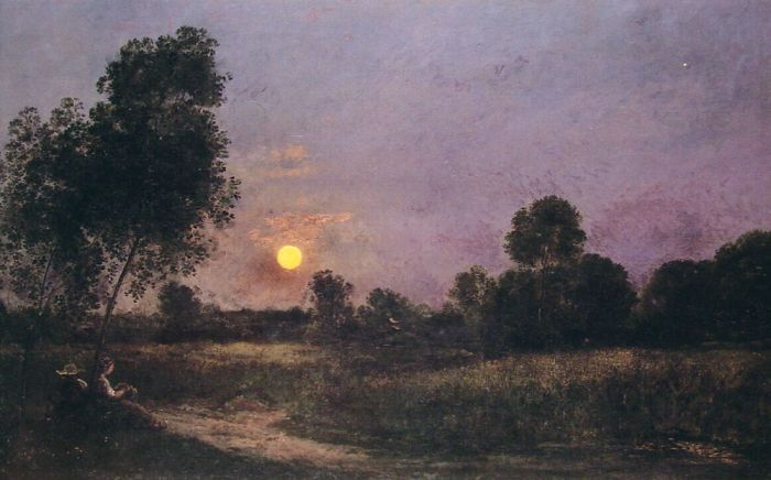 Unknown Daubigny, Charles-Francois Painting Reproductions