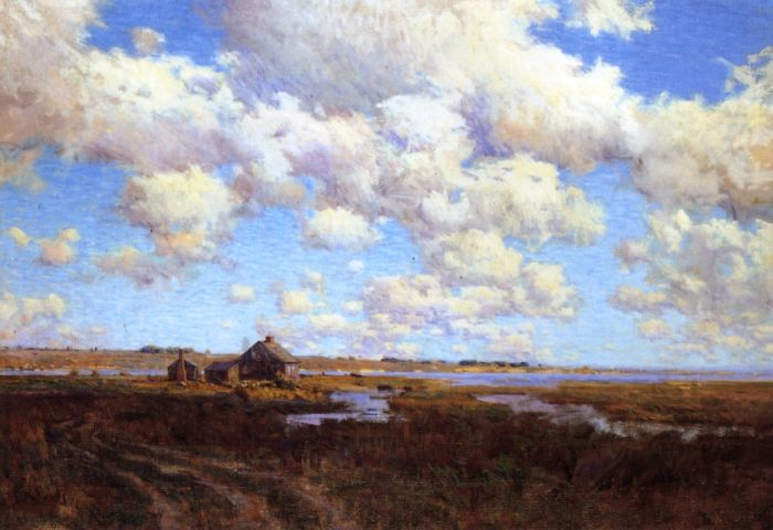 Clearing after a Storm, 1897  Painting Reproductions