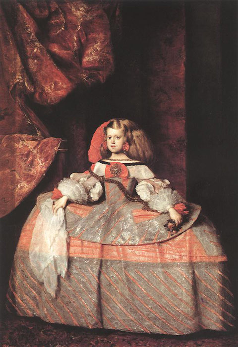 The Infanta Don Margarita de Austria, c.1660  Painting Reproductions