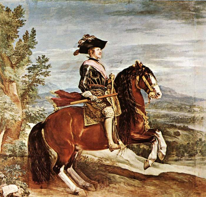 Equestrian Portrait of Philip IV, 1635-1636  Painting Reproductions