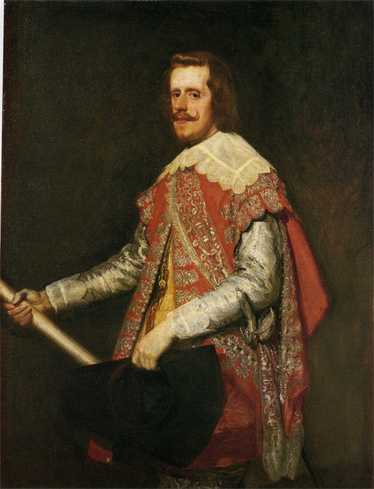 King Philip IV of Spain, 1644  Painting Reproductions