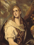 El Greco, -Domenikos Theotokopolos The Penitent Magdalene Art Reproductions