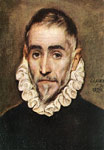 El Greco, -Domenikos Theotokopolos Portrait of an Elder Nobleman, 1584-1594 Art Reproductions