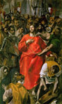 El Greco, -Domenikos Theotokopolos The Spoliation, 1577-1579 Art Reproductions