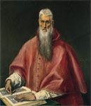 El Greco, -Domenikos Theotokopolos St Jerome, 1590 Art Reproductions