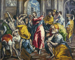 El Greco, -Domenikos Theotokopolos The Purification of the Temple, 1600 Art Reproductions