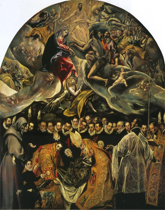 Burial of Count Orgaz  Painting Reproductions
