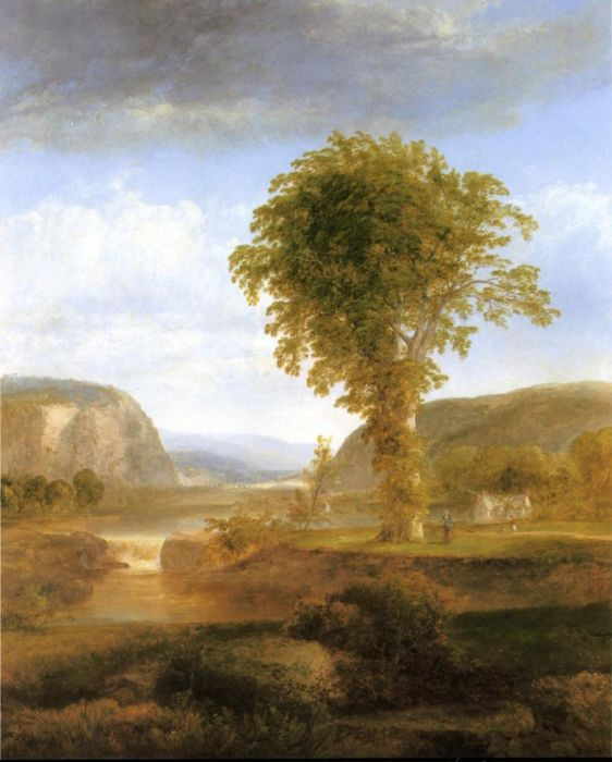 Scenery in the Catskills  Painting Reproductions