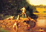 Eakins, Thomas The Swimming Hole, 1883 Art Reproductions