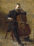 Eakins, Thomas The Cello Player, 1896 Art Reproductions