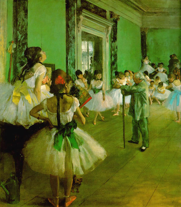 Dance Class, 1874  Painting Reproductions