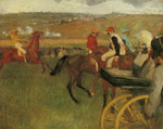 2131 At the Races, Gentlemen Jockeys, c.1877-1880 Art Reproductions