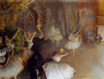 2144 The Rehearsal Of The Ballet Onstage, 1874 Art Reproductions