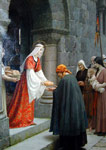 Leighton, Edmund Blair The Charity of St. Elizabeth of Hungary Art Reproductions