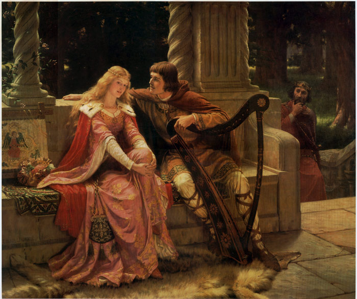 Tristan and Isolde, 1902  Painting Reproductions