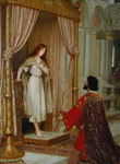 Leighton, Edmund Blair The King and the Beggar -Maid Art Reproductions