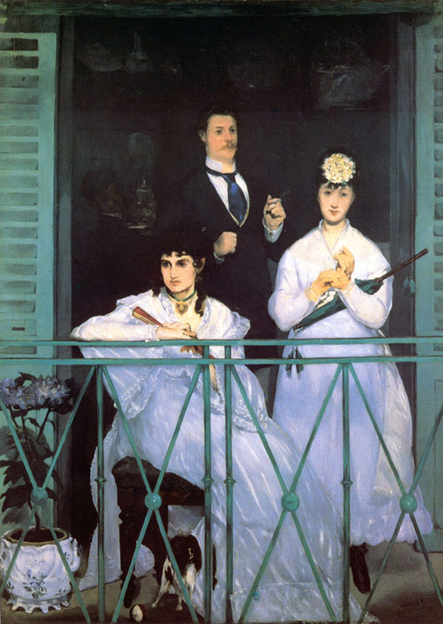 The Balcony, 1868-1869 Manet, Edouard Painting Reproductions