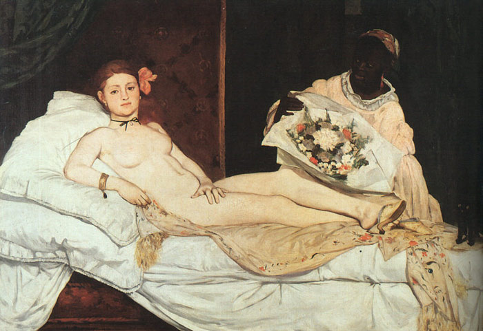 Olympia, 1863 Manet, Edouard Painting Reproductions