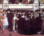 5380 Masked Ball at the Opera Art Reproductions