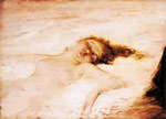 0 A Reclining Nude Art Reproductions