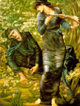 Burne-Jones,Sir Edward Coley The Beguiling of Merlin, 1873-1874 Art Reproductions
