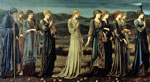 Burne-Jones,Sir Edward Coley The Wedding of Psyche, 1895 Art Reproductions