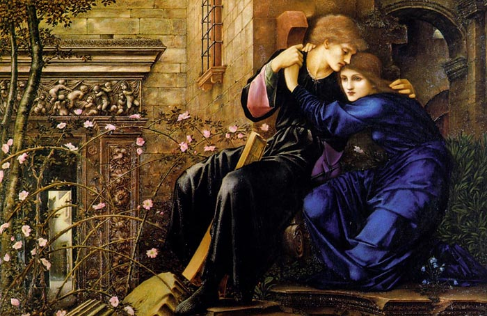 Love Among the Ruins, 1894  Painting Reproductions