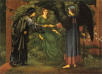 Burne-Jones,Sir Edward Coley The Heart of the Rose, 1889 Art Reproductions