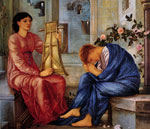 Burne-Jones,Sir Edward Coley The Lament, 1865-1866 Art Reproductions