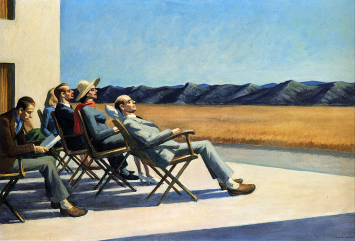 People In The Sun, 1960  Painting Reproductions