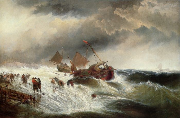 Shipwreck, 1862  Painting Reproductions