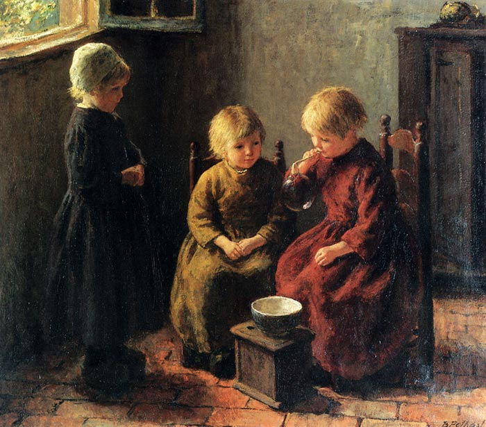Blowing Bubbles  Painting Reproductions