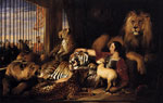 4885 Isaac van Amburgh and his Animals, 1839 Art Reproductions