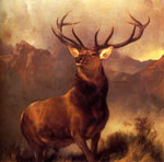 4897 Monarch Of The Glen, 1851 Art Reproductions