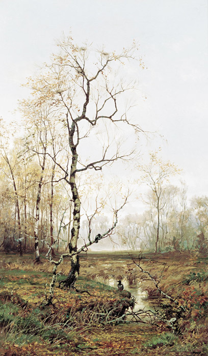In the Forest, Autumn. 1877  Painting Reproductions