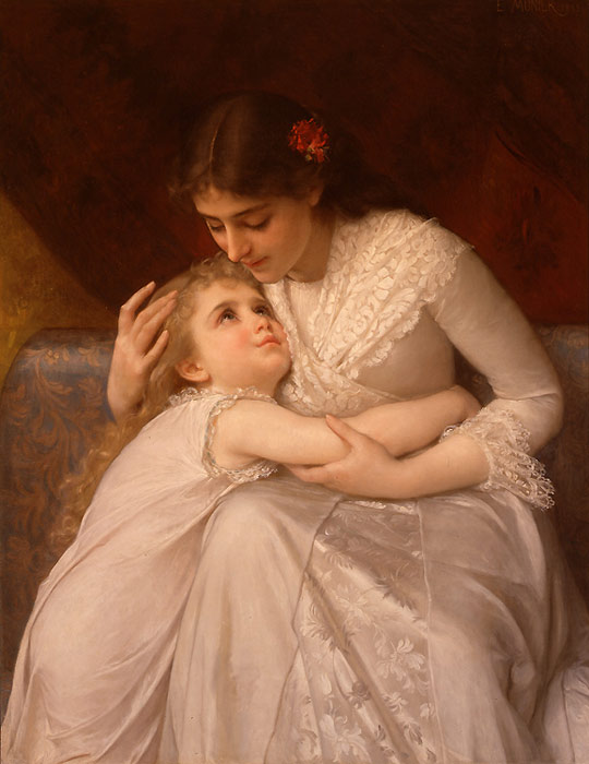 Pardon Mama,  1888  Painting Reproductions