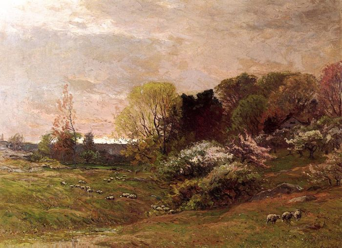 Spring Morning, 1889  Painting Reproductions