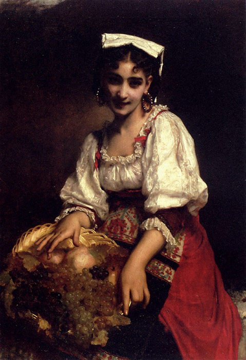 An Italian Beauty, 1874  Painting Reproductions