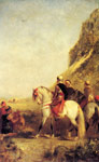 2748 Arabs Hunting Art Reproductions